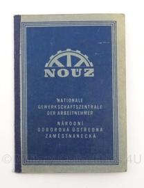 WO2 Duitse nouz Nationale gewerkschaftszentrale boekje 1944 - origineel