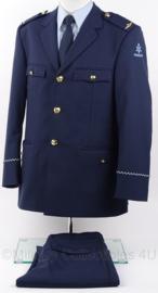 KLu Luchtmacht Officiers DT uniform set, jas, broek en kledingtas - nieuwste model - maat 50 - origineel