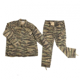 US Army Jungle Fatique jacket & trouser set 3rd pattern - vietnam oorlog Tiger stripe camo - REPLICA