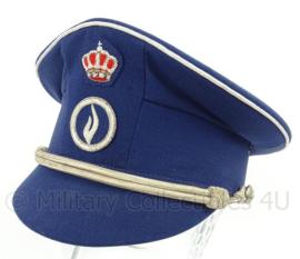 Belgische moderne politie pet Federale politie - Inspecteur - maat 58 - origineel