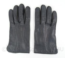 KL Koninklijke Landmacht DT handschoenen merk Laimböck - zwart leer - maat 8 3/4 - origineel