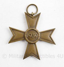 Wo2 Duits Kriegsverdienstkreuz 2e klasse 1939 -  5 x 5 cm  - origineel