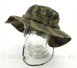 US vietnam oorlog tiger stripe camo boonie hat - Mil Spec - size 7 - nieuw gemaakt