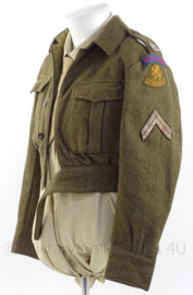 "MVO uniform jas Kavallerie ""Prins Alexander"" - rang ""Korporaal der eerste klasse"" - maat 44 - origineel"