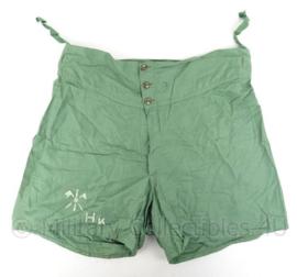 Onbekende korte broek - groen - mogelijk Marine - breedte taille 40 cm - origineel
