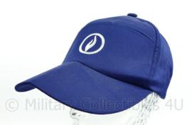 Belgische Politie baseball cap blauw - one size - nieuw - origineel