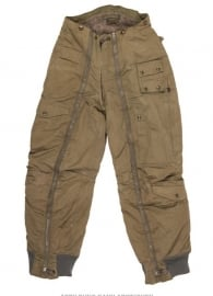 USAAF  WO2 Intermediate Flying Trouser A-11 - met USAAF logo - origineel 1944