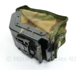 Defensie Minimi patroontas 200 rounds - 11 x 18 x 7 cm - origineel