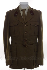 KL Nederlandse leger DT uniform jas met blouse uit 1962 Luitenant - Genie - maat Large - origineel