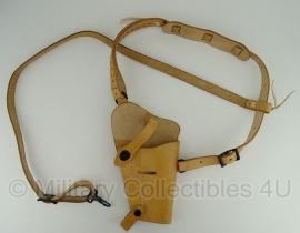 Cal .45 Colt m1911 shoulder holster M7 - lichtbruin