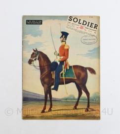 The British Army Magazine Soldier Vol 7 No 12 February 1952 -  Afkomstig uit de Nederlandse MVO bibliotheek - 30 x 22 cm - origineel