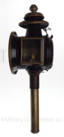 Nederlandse koetslantaarn - Antiek - 50 cm lang -  Origineel
