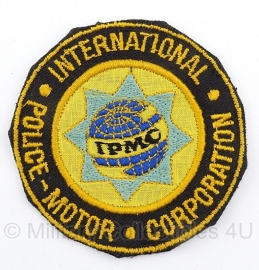 International Police-Motor Corporation embleem - origineel