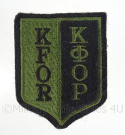 KFOR embleem - 6 x 8 cm - origineel