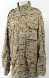 US model digital desert coat combat parka met voering - maat  Large extra long - nieuwstaat - origineel