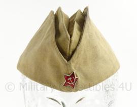 Russisch leger schuitje - naoorlogs maar wel WO2 model - khaki - maat 56 - origineel
