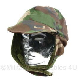 Korps Mariniers zeldzame Forest camo wintermuts - maat 58 - origineel
