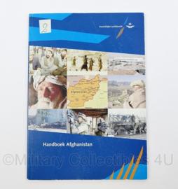 KLU Koninklijke Luchtmacht handboek Afghanistan  - 21 x 15 x 0,3 cm - origineel