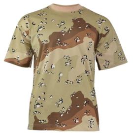 T shirt 1e Golfoorlog Desert camo (nieuw gemaakt)
