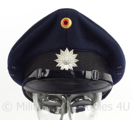 Duitse Bundespolizei pet - Hamburg - maat 58 - maker: J.Heinr 1966 - origineel