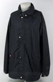 Regenjack zwart - goede kwaliteit - nieuw - maat L - origineel