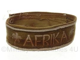 WO2 Duits Afrika DAK cufftitle - lengte 41 cm - origineel