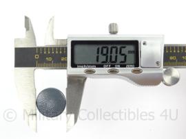 WO2 Duitse knoop 19 mm - grijs - replica