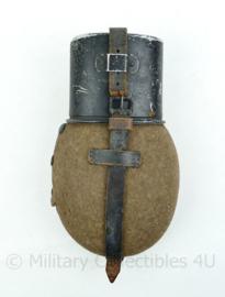 WO2 Duitse veldfles set 1936 - 25x14x6cm -volledig origineel