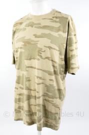ABL Belgisch leger T shirt Desert woestijn - maat L - gedragen - origineel