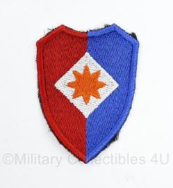 KL DT eenheid embleem voor officieren van de staf van het 1ste legerkorps - 7 x 5 cm -  origineel