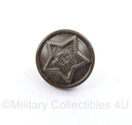 Russische groene uniform knoop - diameter 1,5 cm - origineel