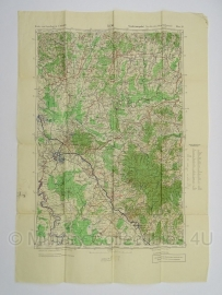 Duitse stafkaart Jugoslawien Cazma Blatt 29 Sonderausgabe Nur für den Dienstgebrauch Joegoslavie  - 70 x 50 cm. schaal 1:100000 - origineel 1931