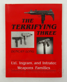 Boek The Terrifying three Duncon Long - afmeting 28 x 22 cm - origineel