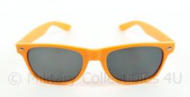 Koninklijke Marine promotie bril oranje - origineel