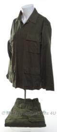 US Combat jacket en trousers HBT Ripstop - maat Large/Reg - nieuw gemaakt