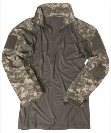 "Combat shirt hot weather ""Warrior""met elleboog pads - ACU camo"