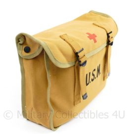 USN US Navy ww2 replica Medical Corpsman bag with carry strap
