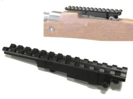 K98 geweer visier adapter voor Picatinny rail scope mount