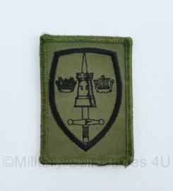 KL Landmacht Embleem Allied Headquarters Brunssum- AFTNorth -  GVT uitvoering - met klittenband voor op de mouw - origineel