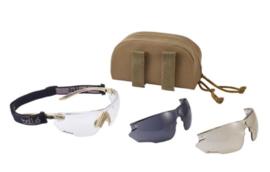 Bolle Tactical Combat Kit Schietbril coyote - nieuw gemaakt!