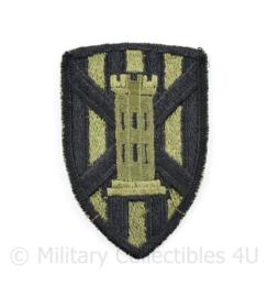 US Army 7th Engineer Brigade patch Subdued - 7,5 x 5 cm - origineel