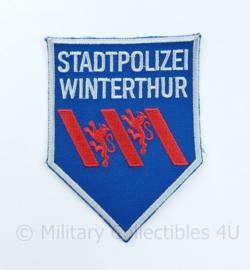 Zwitserse Stadtpolizei embleem Winterthur - 11 x 8  cm - origineel