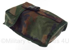 Korps Mariniers opbouwtas veldfles gewone sluiting - molle - Forest camo - 22 x 12 x 7 cm - origineel