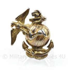 USMC Drill instructor hat badge - 4,5 x 4 cm - origineel