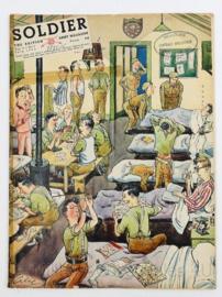 The British Army Magazine Soldier Vol.9 No 5 July 1953 -  Afkomstig uit de Nederlandse MVO bibliotheek - 30 x 22 cm - origineel