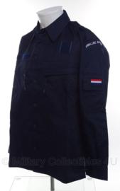 Koninklijke Marine basis jas BT Boord Tenue Boordtenue - gedragen met defecte borstzak rits - maat 8000/8590 - origineel