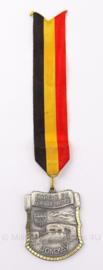 Belgische medaille marche du fort de battice Jonckay - 6 x 5 cm - origineel