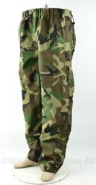 Korps Mariniers broek waterproef  US Camouflage Regenbroek  - maat Large - origineel