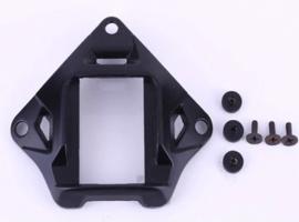 Militaire NVG nachtkijker Night Vision Goggles mount met bevestigingsschroeven - 9,2 x 10,2 cm - ZWART