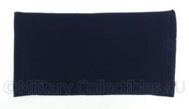 Donkerblauwe wollen sjaal - origineel